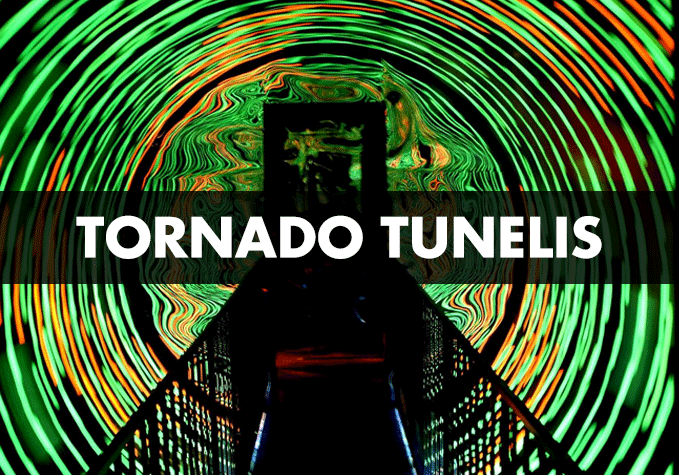 tornado tunelis illusion rooms riga